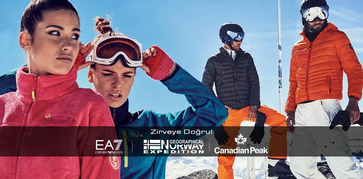 EA7   Canadian Peak   Norway Geographical Yeni Sezon